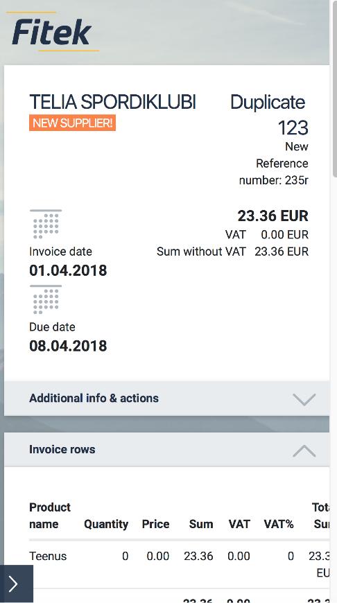 ERP (SAP, MICROSOFT NAV, …) DATA TRANSFER